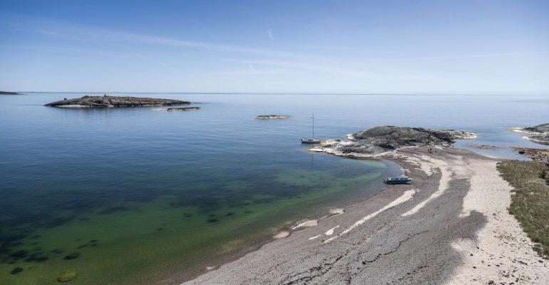 Strand i Alskär. Foto: Henrik Trygg