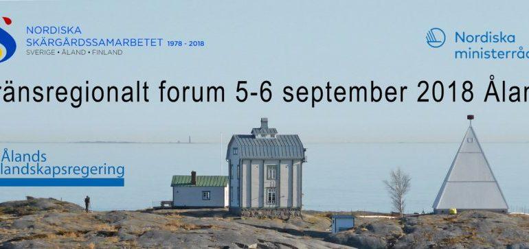 Gränsregionalt forum 2018